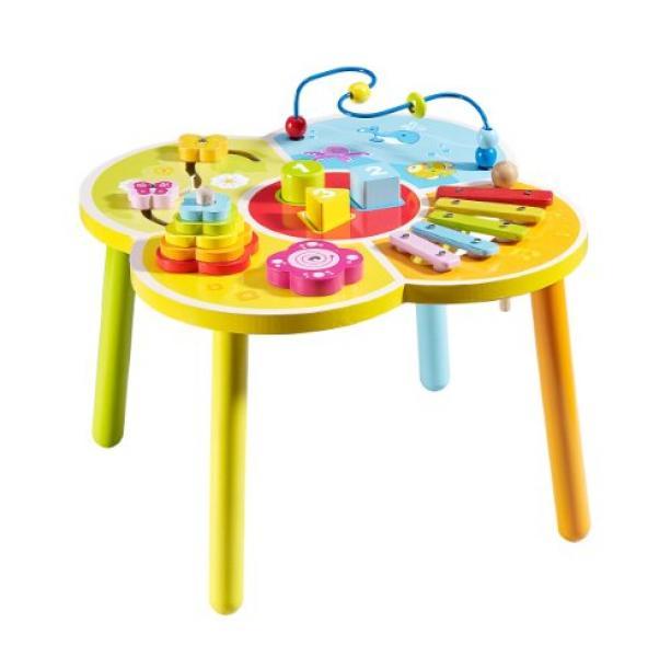 Деревянный развивающий игровой столик