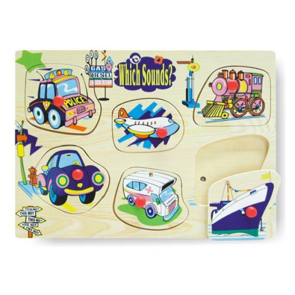 "Häälega puzzle ""Transport"""