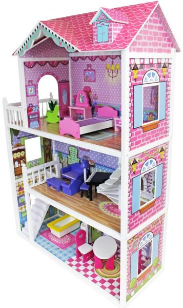 Big Wooden Dolls House