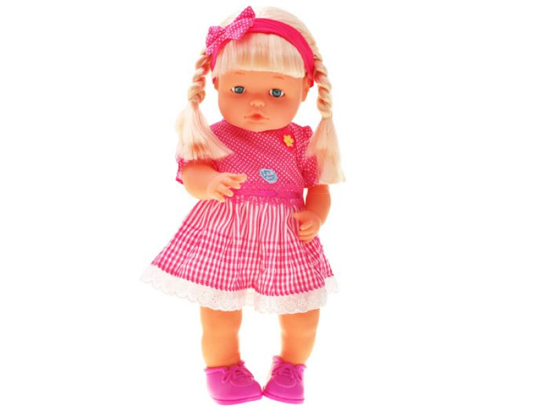 Baby doll with hair, 40 cm