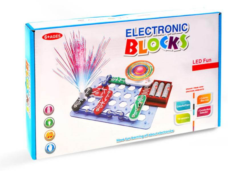 Educational Kit Electronic Blocks with LED
