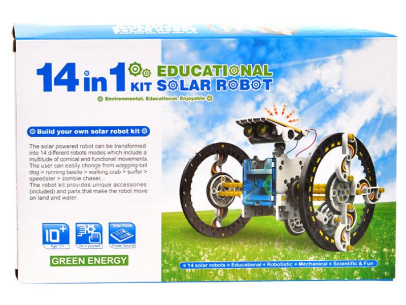 Educational Kit Solar Robot 14 in 1