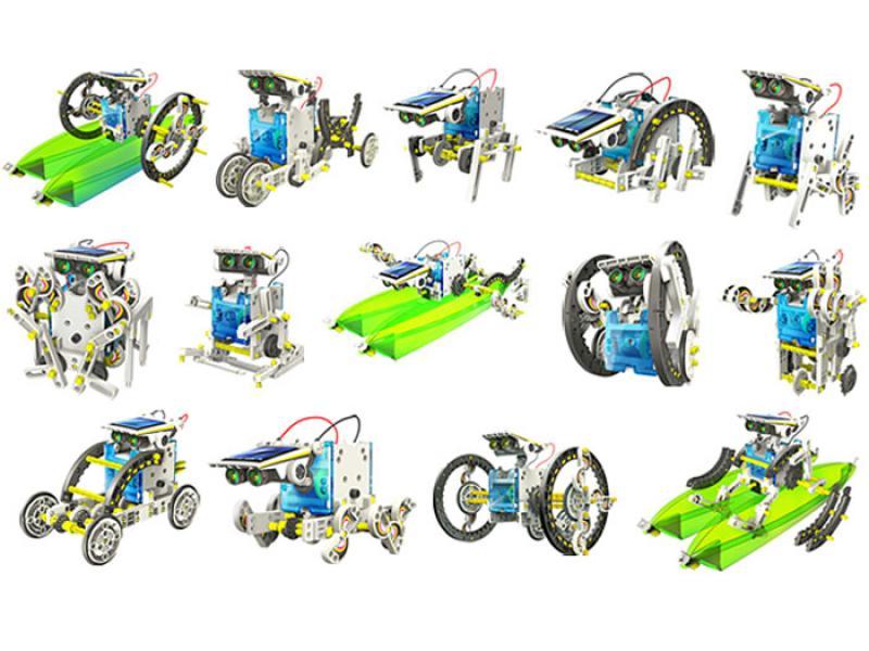 Educational Kit Solar Robot 14 in 1
