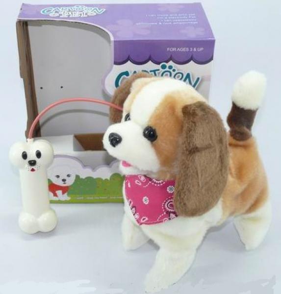 Walking toy dog