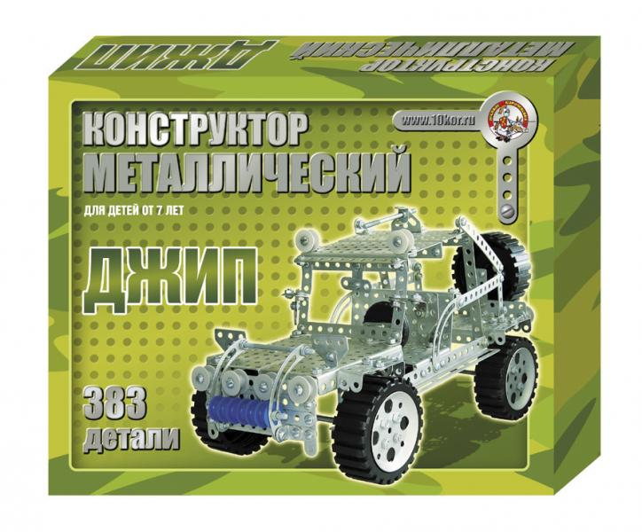 Children's Construction Set Jeep 383 pcs