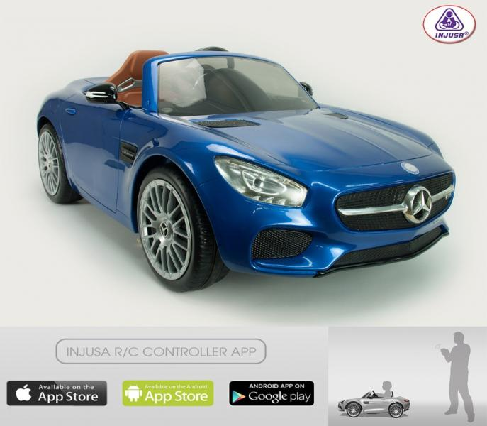 Ride on car INJUSA MERCEDES AMG GT 6V R/C