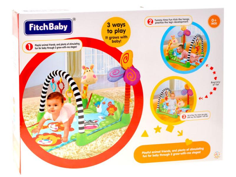 Educational Play Mat Safari