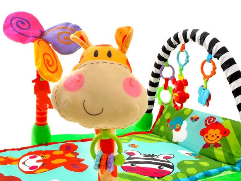 Educational Play Mat Safari