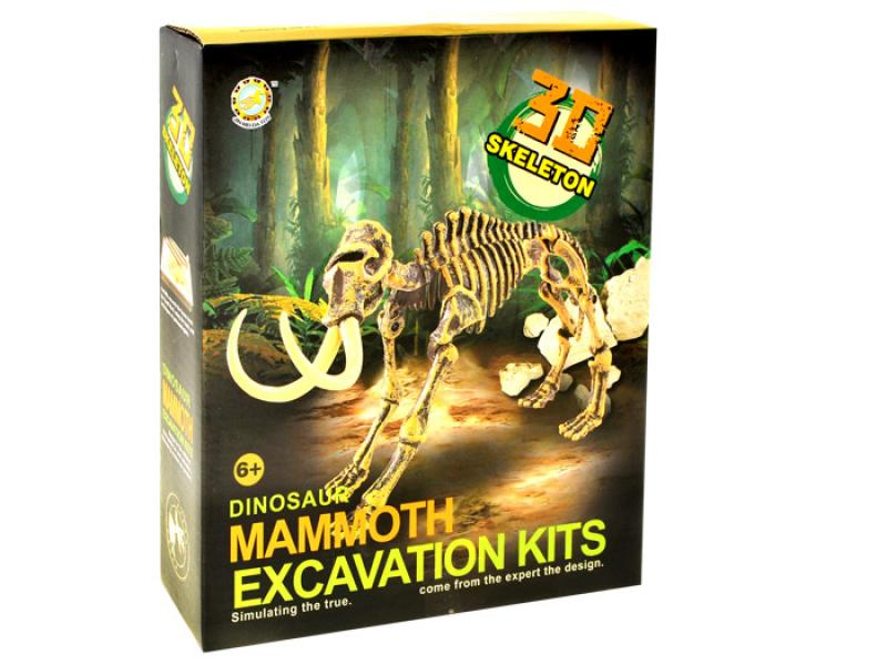 Excavation kit dinosaur