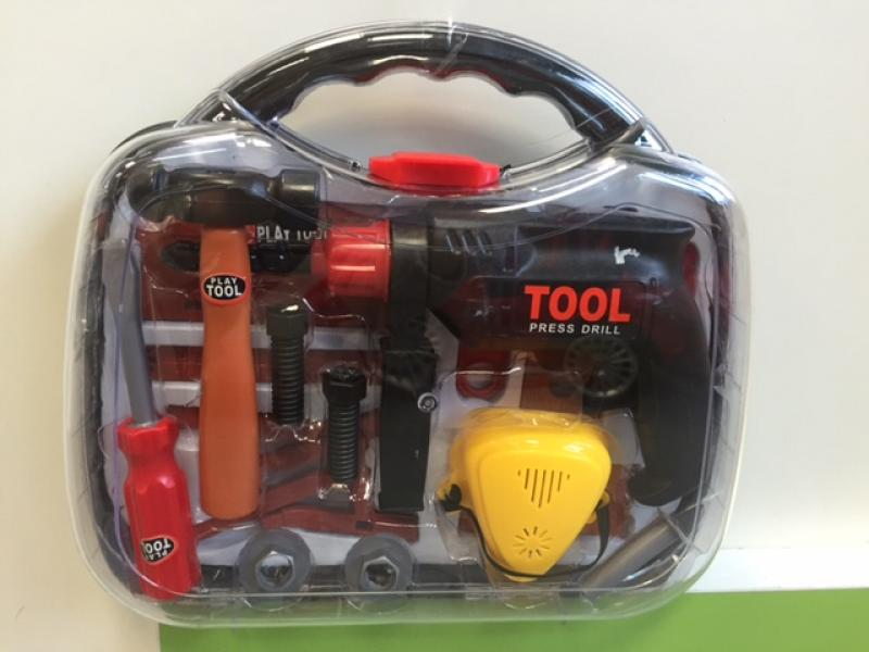 Tööriistakomplekt kohvris