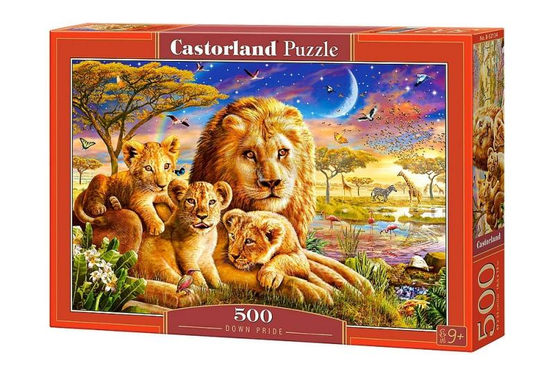 "Puzzle Castorland ""Dawn Pride"" 500 pcs"