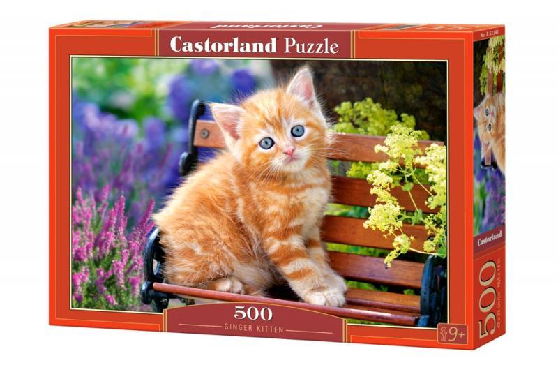 "Пазл Castorland ""Ginger Kitten"" 500 деталей"