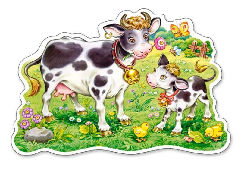 "Puzzle Castorland ""Cows on a Meadow"" 12 pcs Extra Big Pieces"
