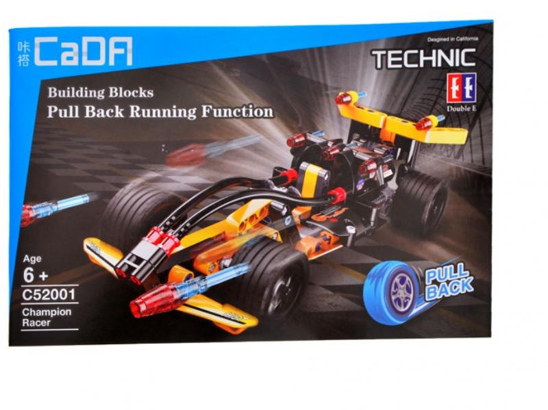 Cada Technik Car Formula Block Brick Set, 159 pcs