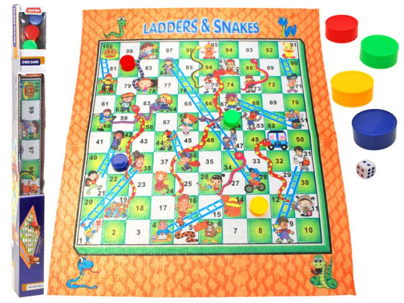 "Chess Game ""Ladders and Snakes"""