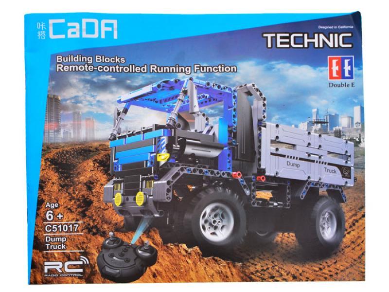 Cada Technik Dump Truck Block Brick Set, 638 pcs