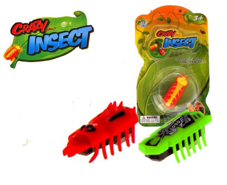 "Bug Nano micro robotic creatures ""Crazy Insect"""