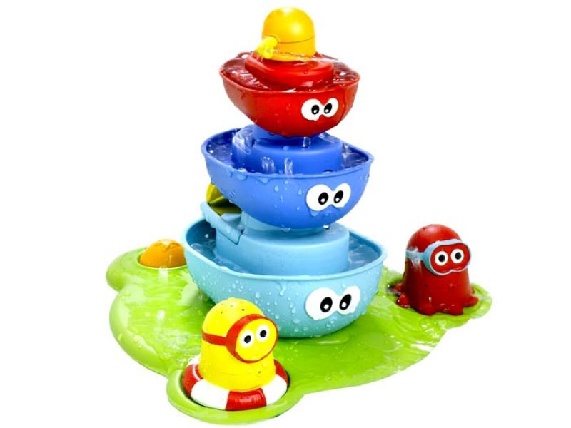 Bath Toys into a fountain of fun