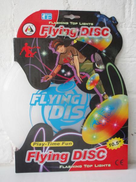 """Летающая тарелка """"Flying DISC""""светящаяся"""