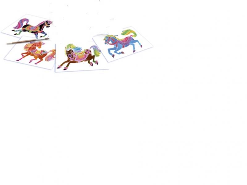 """Varupildid akvarelli komplektile """"Hobune"""" (junior)"""