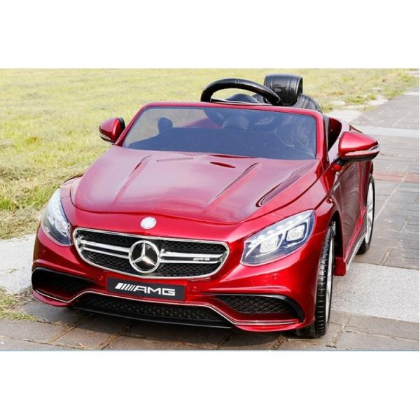 Children ride on car Mercedes S63 AMG (Red)
