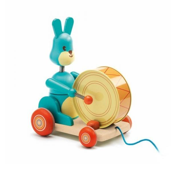 Pull along toys - Badaboum