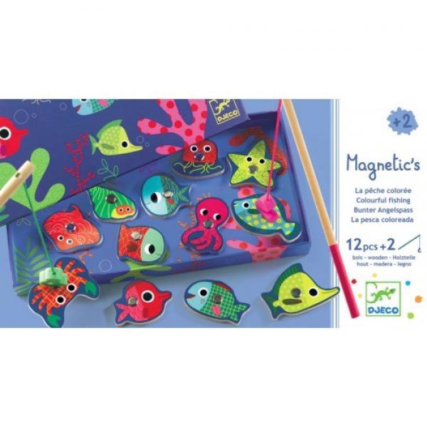 Цветная Магнитная игра рыбалка