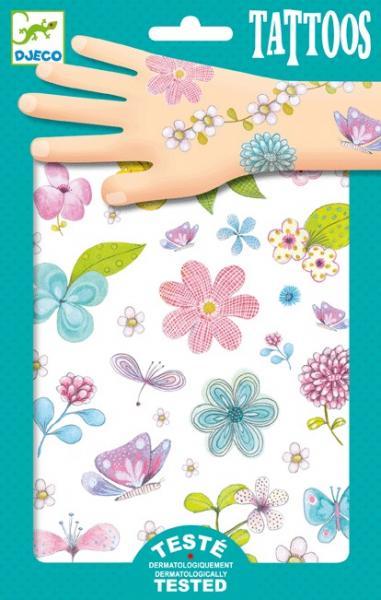 Детские Татуировки Цветы