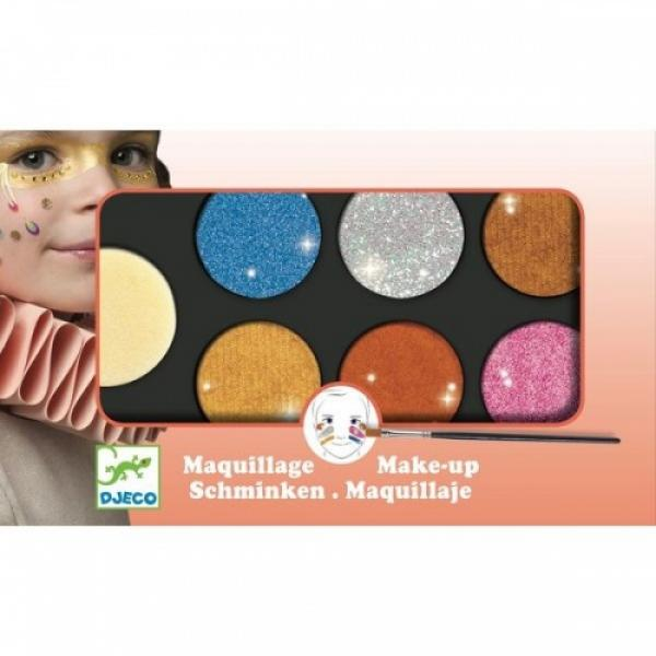 Body Art - Palette 6 colours - Metallic