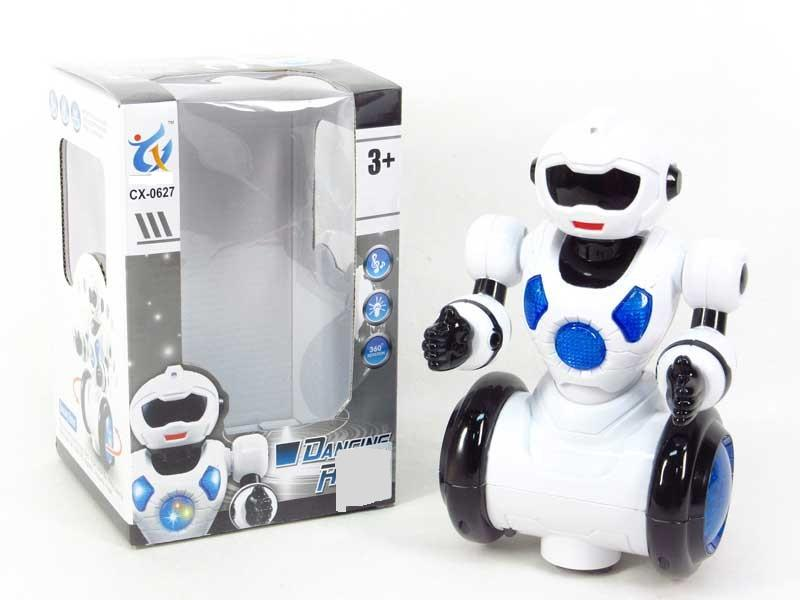 Танцующий интерактивный робот со звуком и светом