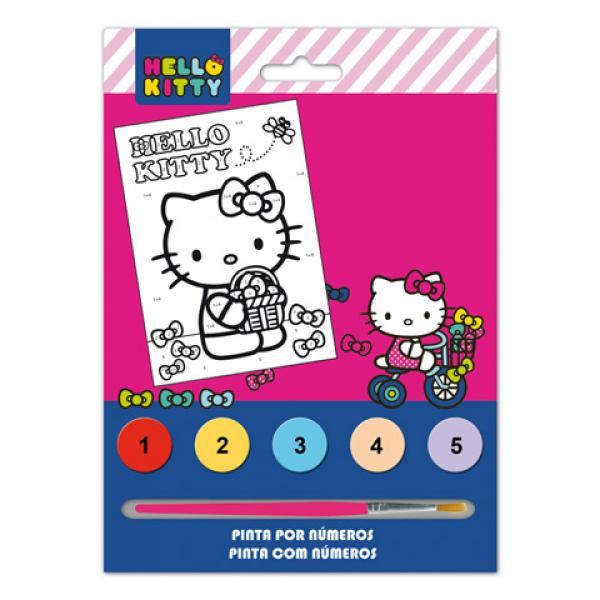 Paint By Numbers Watercolors HELLO KITTY