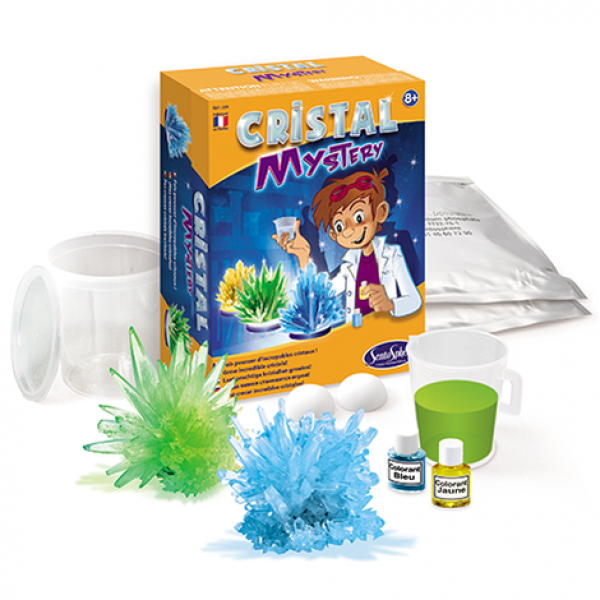 """Cristal Mystery"" Your first chemical workshop"