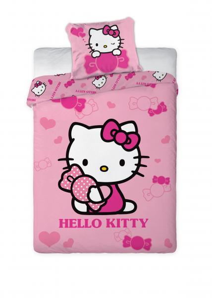 Laste voodipesukomplekt HELLO KITTY 160*200 + 70*80