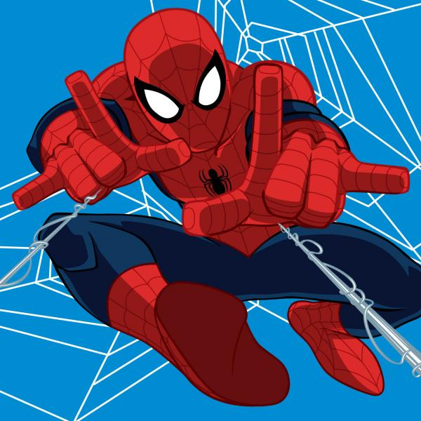 Fliistekk SPIDERMAN Coral 120*150