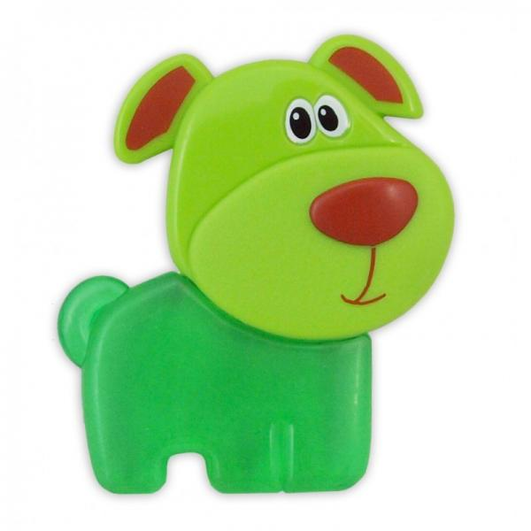 "Gel teether ""Green dog"""