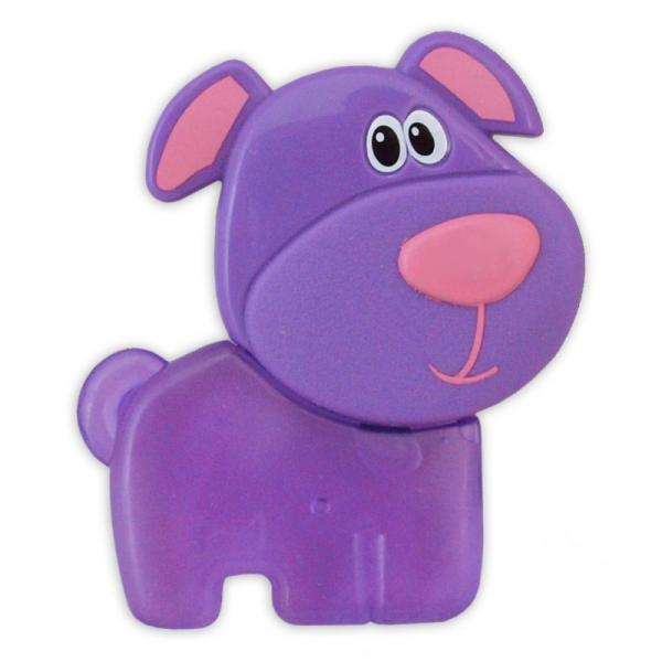 "Gel teether ""Violet dog"""
