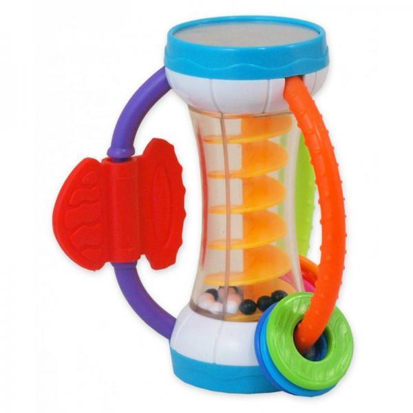 Plastic rattle-shaker