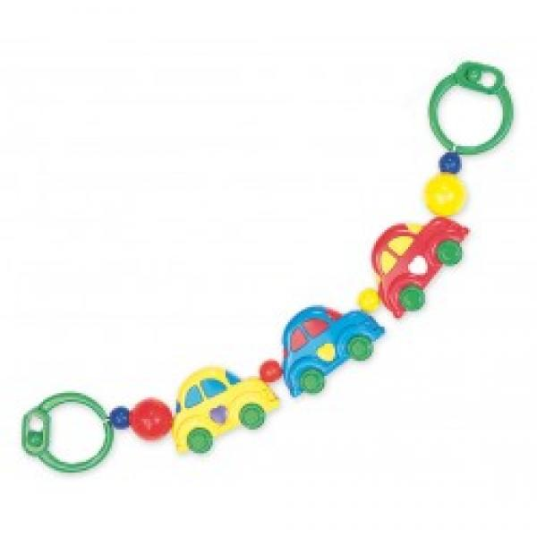"Plastic rattle for stroller ""Cars"""