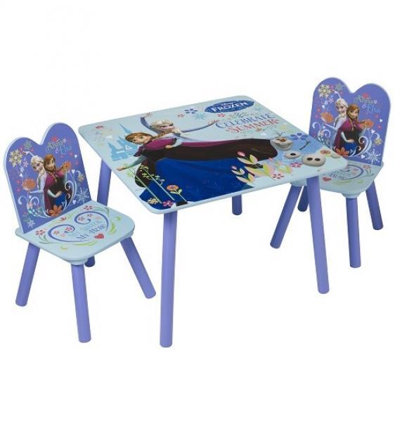 Lastemööbli komplekt Laud ja 2 tooli FROZEN