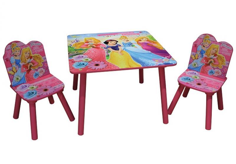 Lastemööbli komplekt Laud ja 2 tooli Princess