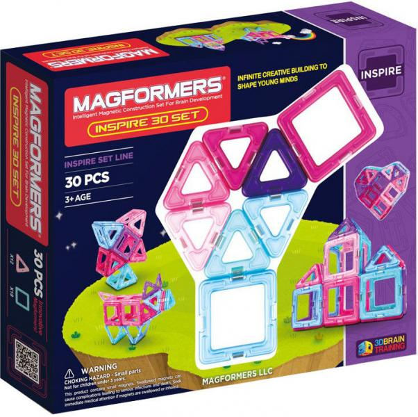 """Magnetic Magformers """"Inspire 30 Set"""""""