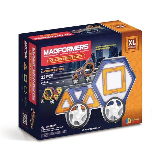 "Magnetic Magformers ""XL Cruisers"""