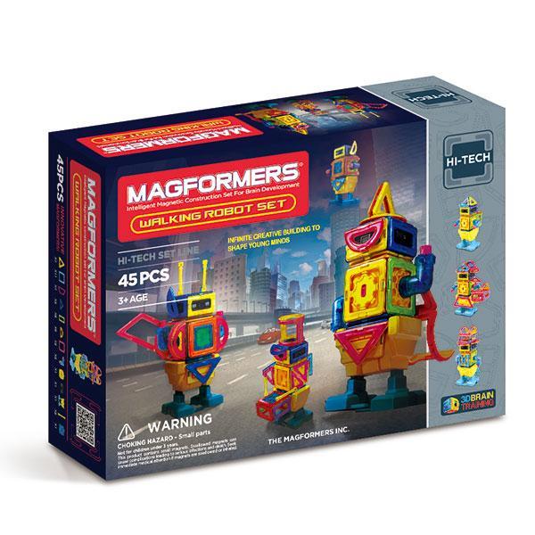 """Magnetic Magformers """"Walking Robot Set"""""""