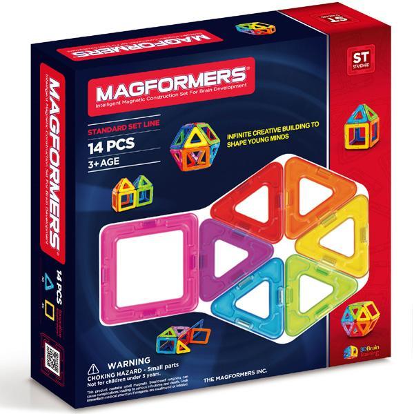 "Magnetkonstruktor Magformers ""Standard Set 14"""