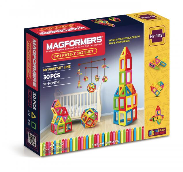 "Magnetic Magformers ""My first 30 Set"""