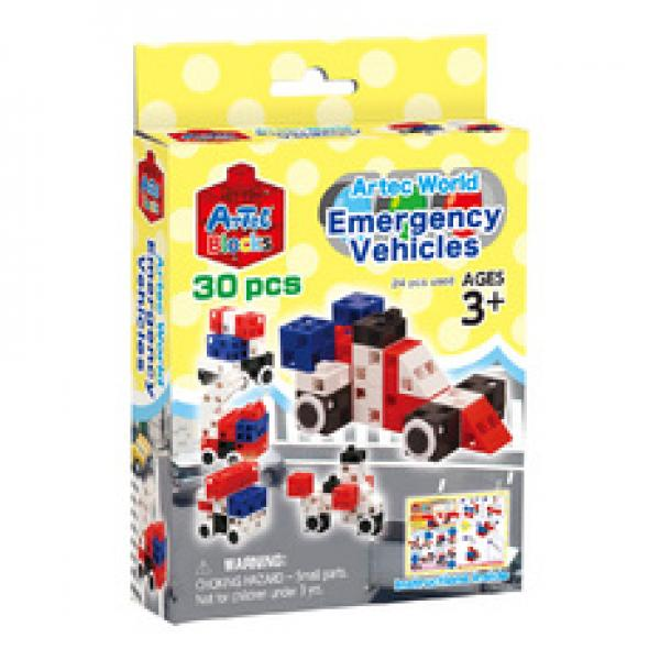 "Artec Blocks ""Emergency Cars"" 30 pcs."