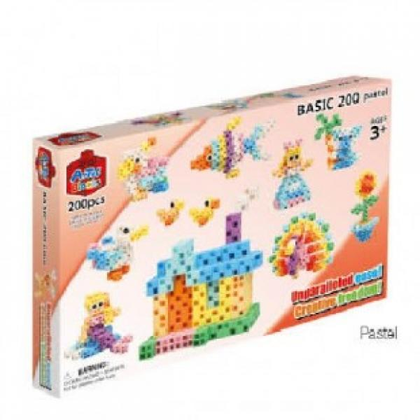 "Artec Blocks ""Pastel Basic"" 200 pcs."