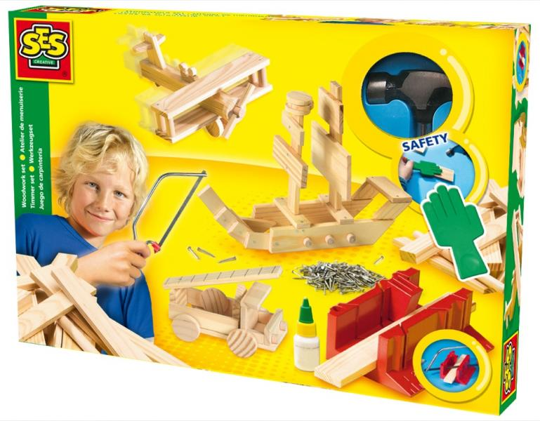Children's Woodwork Big Set, SES