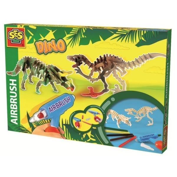 """Käsitöökomplekt """"Värvi Dinosaurused"""", SES"""