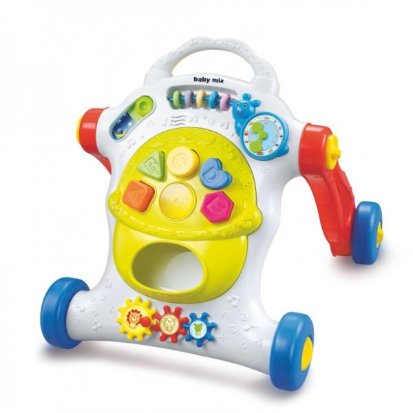 Educational musical push toy